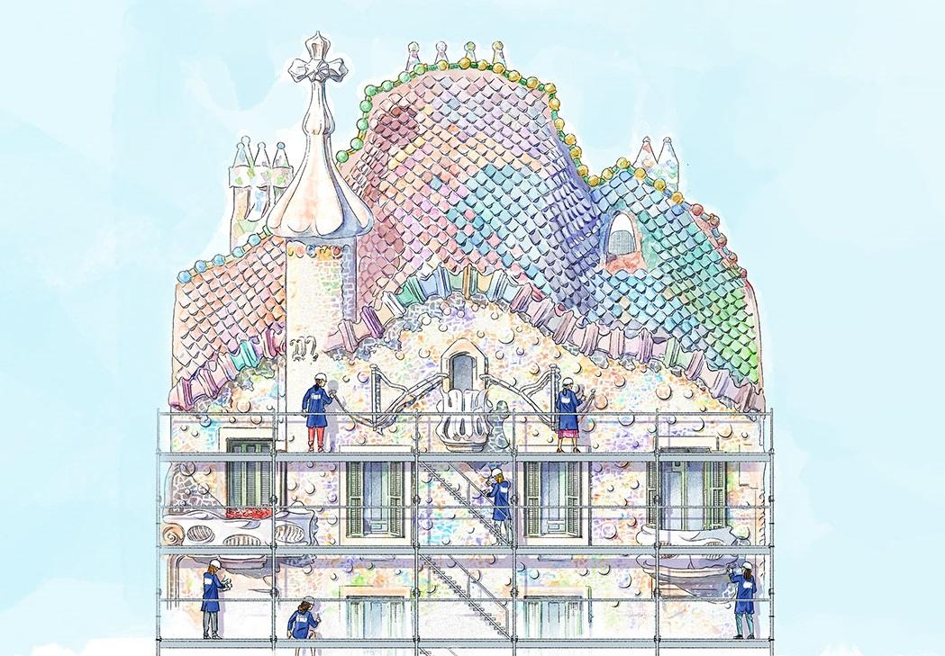 Restauro di Casa Batlló